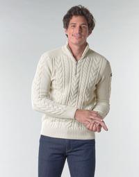 textil Herre Pullovere Schott PL BRUCE2 Beige