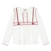 textil Pige Toppe / Bluser Chipie 8R12014-19 Hvid