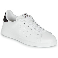 Sko Dame Lave sneakers Victoria TENIS PIEL Hvid / Bordeaux