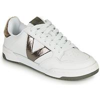 Sko Dame Lave sneakers Victoria CRONO PIEL Hvid / Bronze