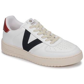Sko Lave sneakers Victoria SIEMPRE PIEL VEG Hvid / Blå / Rød