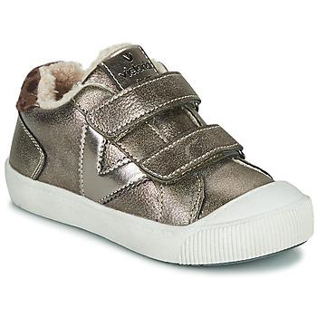 Sko Pige Lave sneakers Victoria HUELLAS  TIRAS Sølv