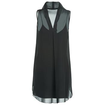 textil Dame Korte kjoler Naf Naf E-LALY Sort