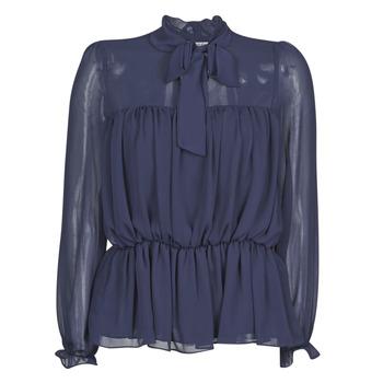 textil Dame Toppe / Bluser Naf Naf HAZUL C1 Marineblå