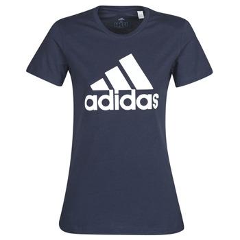 textil Dame T-shirts m. korte ærmer adidas Performance W BOS CO TEE Blå