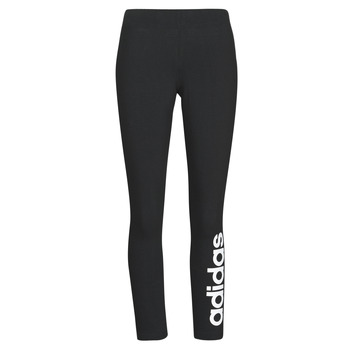 textil Dame Leggings adidas Performance W E LIN TIGHT Sort