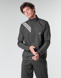textil Herre Sweatshirts adidas Performance OWN THE RUN JKT Sort