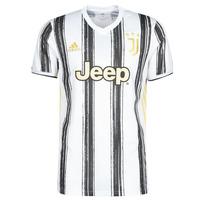 textil T-shirts m. korte ærmer adidas Performance JUVE H JSY Hvid / Sort
