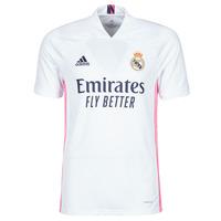 textil T-shirts m. korte ærmer adidas Performance REAL H JSY Hvid
