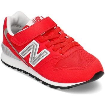Sko Børn Lave sneakers New Balance 996 Hvid, Rød