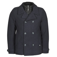 textil Herre Frakker Petrol Industries JACKET WOOL Marineblå