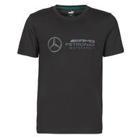 textil Herre T-shirts m. korte ærmer Puma MAPM LOGO TEE Sort