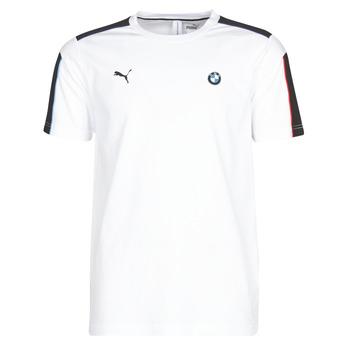 textil Herre T-shirts m. korte ærmer Puma BMW MMS MS T7 TEE Hvid
