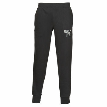 textil Herre Træningsbukser Puma ATHLETICS PANTS FL CL Sort