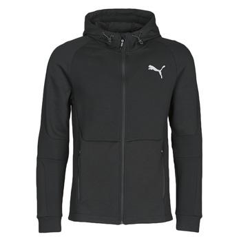 textil Herre Sportsjakker Puma EVOSTRIPE FZ HOODY Sort