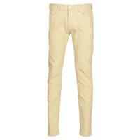 textil Herre Smalle jeans Diesel D-LUSTER Beige