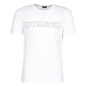 textil Herre T-shirts m. korte ærmer Diesel JAKE Hvid