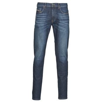 textil Herre Smalle jeans Diesel D-STRUKT Blå