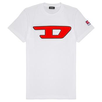 textil Børn T-shirts m. korte ærmer Diesel TJUSTDIVISION Hvid