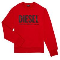 textil Dreng Sweatshirts Diesel SCREWDIVISION LOGO Rød