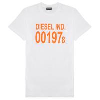 textil Børn T-shirts m. korte ærmer Diesel TDIEGO1978 Hvid