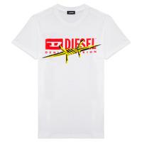 textil Dreng T-shirts m. korte ærmer Diesel TDIEGOBX2 Hvid