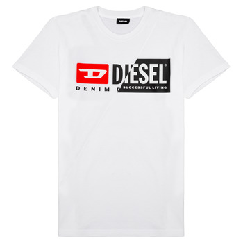 textil Børn T-shirts m. korte ærmer Diesel TDIEGOCUTY Hvid
