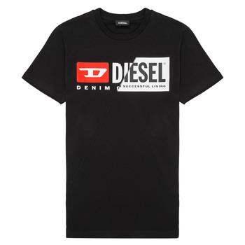 textil Børn T-shirts m. korte ærmer Diesel TDIEGOCUTY Sort
