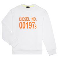 textil Børn Sweatshirts Diesel SGIRKJ3 Hvid