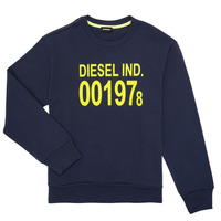 textil Børn Sweatshirts Diesel SGIRKJ3 Blå