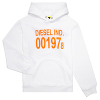 textil Børn Sweatshirts Diesel SGIRKHOOD Hvid