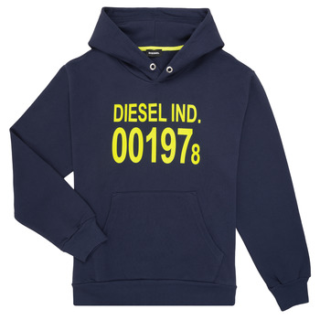 textil Børn Sweatshirts Diesel SGIRKHOOD Blå