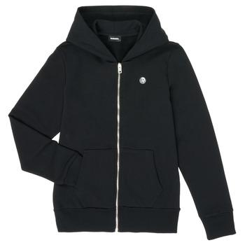 textil Dreng Sweatshirts Diesel SROGER Sort