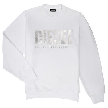textil Pige Sweatshirts Diesel SANGWX Hvid