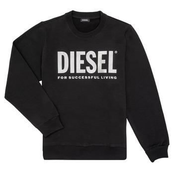 textil Pige Sweatshirts Diesel SANGWX Sort