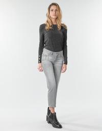 textil Dame Lige jeans Freeman T.Porter LOREEN DENIM Grå