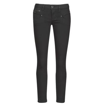 textil Dame Smalle jeans Freeman T.Porter ALEXA CROPPED S-SDM Sort