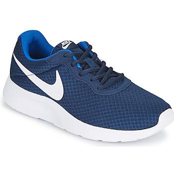 Sko Herre Lave sneakers Nike TANJUN Blå / Hvid