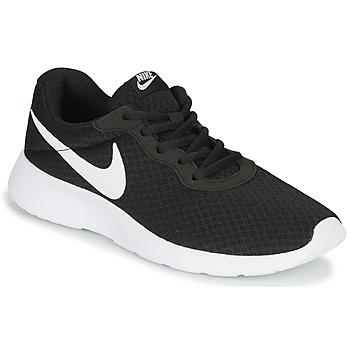 Sko Dame Lave sneakers Nike TANJUN Sort / Hvid