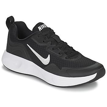 Sko Dame Multisportsko Nike WEARALLDAY Sort / Hvid