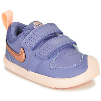 Sko Pige Lave sneakers Nike PICO 5 TD Violet / Pink