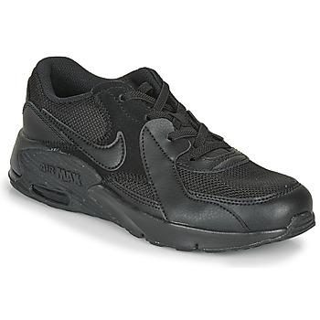 Sko Børn Lave sneakers Nike AIR MAX EXEE PS Sort