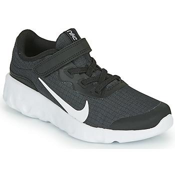 Sko Børn Lave sneakers Nike EXPLORE STRADA PS Sort / Hvid