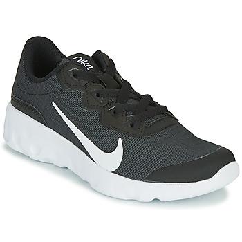 Sko Børn Lave sneakers Nike EXPLORE STRADA GS Sort / Hvid