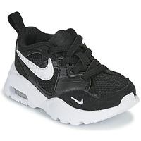 Sko Børn Lave sneakers Nike AIR MAX FUSION TD Sort / Hvid