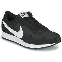 Sko Børn Lave sneakers Nike MD VALIANT GS Sort / Hvid