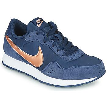 Sko Børn Lave sneakers Nike MD VALIANT GS Blå / Kobber