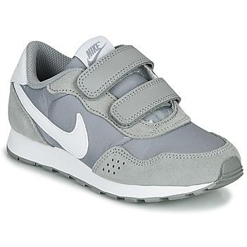 Sko Børn Lave sneakers Nike MD VALIANT PS Grå / Hvid