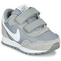 Sko Børn Lave sneakers Nike MD VALAINT TD Grå / Hvid