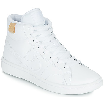 Sko Dame Lave sneakers Nike COURT ROYALE 2 MID Hvid